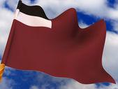 Flag. Georgia. — Stock Photo
