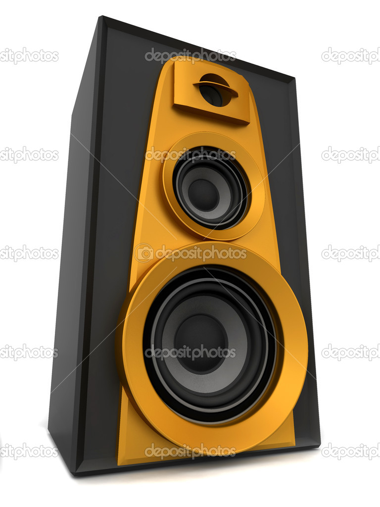 Great loud speakers — Stock Photo #5085185