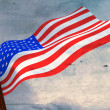 flag of usa — Stock Photo #5092948