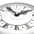 Clock. Three o'clock — Stockfoto #5093574