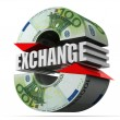 Currency exchange. Euro — Stock Photo #5093740