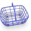 Consumer's basket — Stock Photo