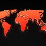 Map of world — Stock Photo