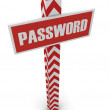 "Stock Photo: Post ""password"""