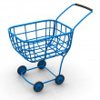 Consumer's basket. 3d — Stock Photo
