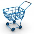Stock Photo: Consumer's basket. 3d