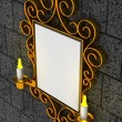 Abstract frame, ornament - Foto de Stock