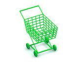 Consumer basket — Stock Photo