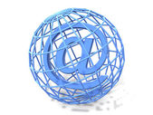 Symbol for internet. 3d — Stock Photo