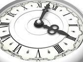 Clock. Three o'clock — Stock Photo