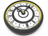 Clock. Nine o'clock. 3d — Foto de Stock
