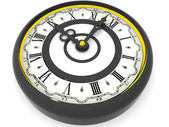 Clock. Nine o'clock. 3d — ストック写真