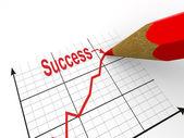 Program ile kalem. başarı stratejisi — Stok fotoğraf