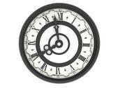 Clock. eight o'clock — Stock Photo