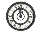 Reloj. medianoche — Foto de Stock