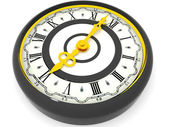 Six o'clock. 3d — Stockfoto