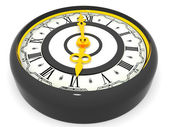 Clock. Six o'clock — Stock Photo