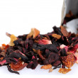Stock Photo: Fruit and floral dry tea