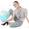 Earth in hands — Stock Photo #3415644