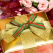 Gift box with bow — Stock Photo #2794169