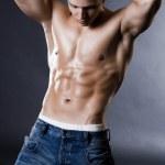 Young bodybuilder man — Stock Photo