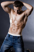 Young bodybuilder man — Fotografia Stock