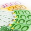 Many euros in pile — Stock Photo #2805301