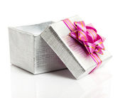 Gift box isolated — Stock Photo