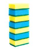 Scrubbing sponges — Stock Photo