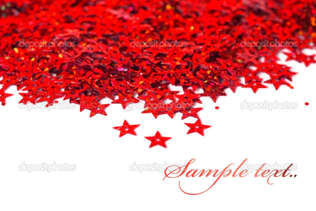 Celebration stars on white background — Stock Photo #2804220