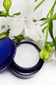 Cosmetic moisturizing cream — Stock Photo