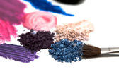 Make-up eyeshadows — Stock Photo