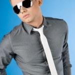 Attractive businessman — Stock Photo