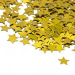Celebration stars on white background - Stock Photo