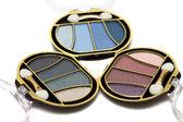 Blue and pink make-up eyeshadows — Stock Photo