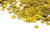 γιορτή αστέρια σε άσπρο φόντο — Φωτογραφία Αρχείου