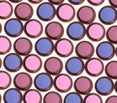 Make-up eyeshadows isolated on white — Stock Photo