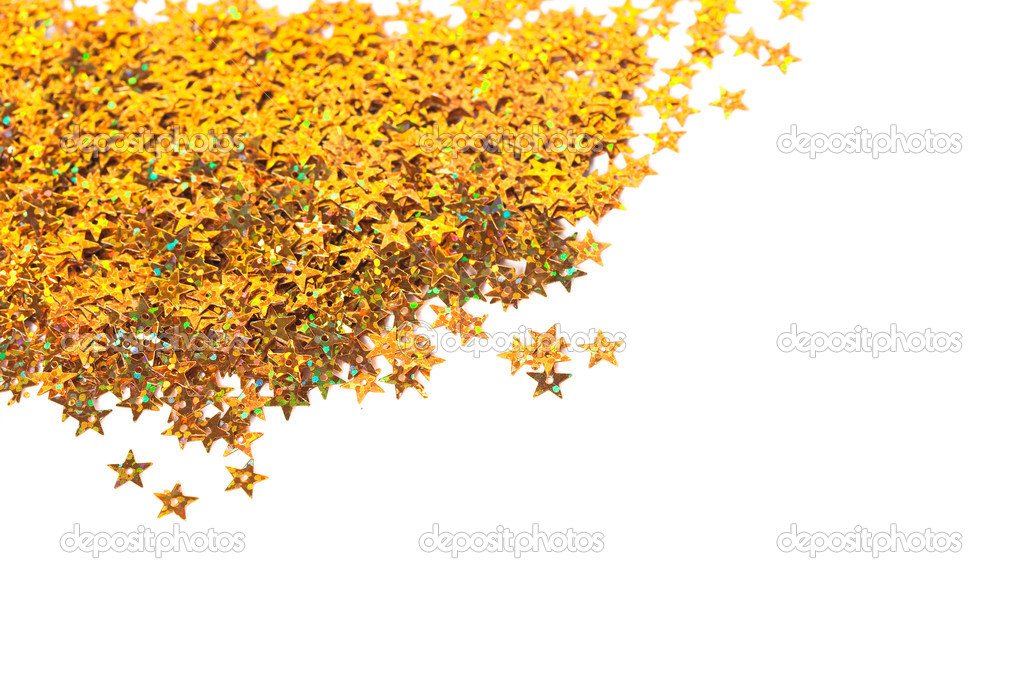 Celebration stars on white background — Stock Photo #3638848