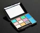 Pink and blue make-up eyeshadows — Stock Photo