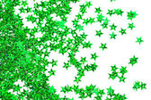 Celebration stars on white background — Стоковое фото