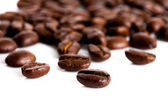 Coffee beans isolated on white background — Stock Photo