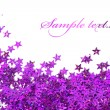 Celebration stars on white background - Lizenzfreies Foto