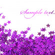 Celebration stars on white background - Foto de Stock  