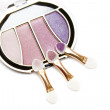 Purple and pink make-up eyeshadows - Foto Stock