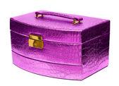 Beautiful safe box with padlock — Stock Photo