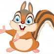 Vector de stock : Squirrel