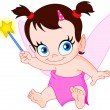 Baby fairy - Stock Vector