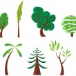 Royalty-Free Stock Vector Image: Trees