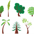 Trees — Stock Vector #3240891