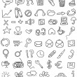 Royalty-Free Stock Imagen vectorial: Icon doodles